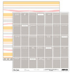 Elle's Studio - Cienna Collection - 12 x 12 Double Sided Paper - Tiny Notes