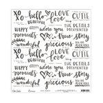 Elle's Studio - Cienna Collection - 12 x 12 Vellum - Happy Moments