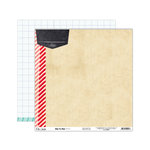 Elle's Studio - Day To Day Collection - 12 x 12 Double Sided Paper - Today