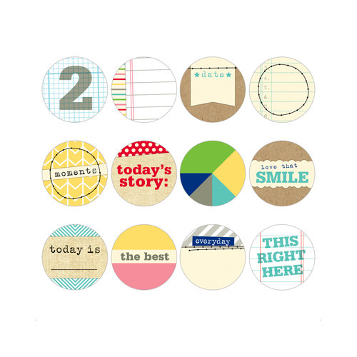 Elle's Studio - Day To Day Collection - Tags - Tidbits