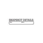 Elle's Studio - Clear Acrylic Stamps - Snapshot Details