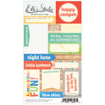 Elle's Studio - Spooky Tales Collection - Halloween - Paper Tags - Pennants