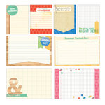 Elle's Studio - Saltwater Collection - Large and Medium Journaling Tags