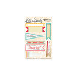 Elle's Studio - The Sweet Life Collection - Paper Tags - Pennants