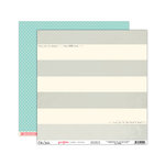 Elle's Studio - You and Me Collection - 12 x 12 Double Sided Paper - Lovely Stripes