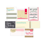 Elle's Studio - You and Me Collection - Journaling Tags