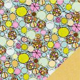 Fiskars - Heidi Grace Designs - Reagan's Closet Collection - 12 x 12 Double Sided Paper - Decor Circles, CLEARANCE