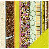 Fiskars - Heidi Grace Designs - Reagan's Closet Collection - 12 x 12 Double Sided Paper - Decor Stripe, CLEARANCE