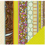 Fiskars - Heidi Grace Designs - Reagan's Closet Collection - 12 x 12 Double Sided Paper - Decor Stripe, CLEARANCE