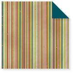 Fiskars - Cloud 9 Design - Kensington Gardens Collection - 12 x 12 Double Sided Paper - Multi Stripe, CLEARANCE