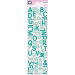 Fiskars - Cloud 9 Design - Alyssa's Garden Collection - Puffy Stickers - Alphabet
