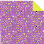 Fiskars - Cloud 9 Design - Halloween Fun Collection - 12 x 12 Double Sided Paper - Purple Stars, CLEARANCE