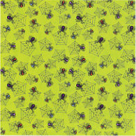 Fiskars - Cloud 9 Design - Halloween Fun Collection - 12 x 12 Sparkle Paper - Multi-Spider, CLEARANCE