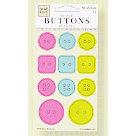 Fiskars - Heidi Grace Designs - Reagan's Closet Collection - Epoxy Raised Buttons