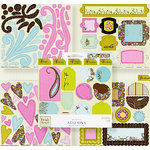 Fiskars - Heidi Grace Designs - Reagan's Closet Collection - Punchboard Add-Ons, CLEARANCE