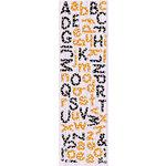 Fiskars - Cloud 9 Design - Halloween Fun Collection - Puffy Alphabet Stickers, CLEARANCE