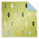 Fiskars - Cloud 9 Design - Finley's Estate Collection - 12 x 12 Double Sided Paper - Argyle, CLEARANCE