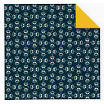 Fiskars - Cloud 9 Design - Finley's Estate Collection - 12 x 12 Double Sided Paper - Blue Blooms, CLEARANCE