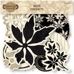 Fiskars - Kimberly Poloson - Letters Home Collection - Die Cut Shape Punchouts