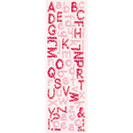 Fiskars - Cloud 9 Design - St. Valentine Collection - Puffy Alpha Stickers