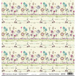 Fiskars - Heidi Grace Designs - Sweetest Bug Collection - 12 x 12 Double Sided Paper - Love Bug, CLEARANCE