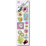 Fiskars - Heidi Grace Designs - Sweetest Bug Collection - Dimensional Glitter Stickers - Icon