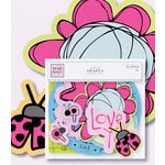 Fiskars - Heidi Grace Designs - Sweetest Bug Collection - Printed Chipboard - Shapes