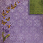 Fiskars - Kimberly Poloson - Nature's Flora Collection - 12 x 12 Double Sided Paper - A Fleeting Moment