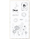 Fiskars - Heidi Grace Designs - Sweetest Bug Collection - Clear Acrylic Stamps - 4 x 8 - Sweetest Bug Icons, CLEARANCE