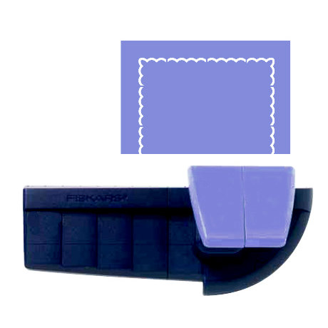Fiskars - Border and Corner Punch - Quilted Corners, CLEARANCE