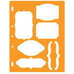 Fiskars - Shape Template - Bracket and Journal
