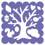 Fiskars - Shape Template - 12 x 12 - Woodland Tree
