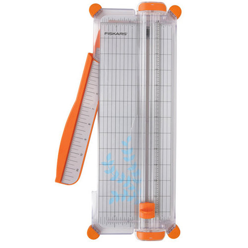 Fiskars - 12 Inch Personal Paper Trimmer with Cut-Line