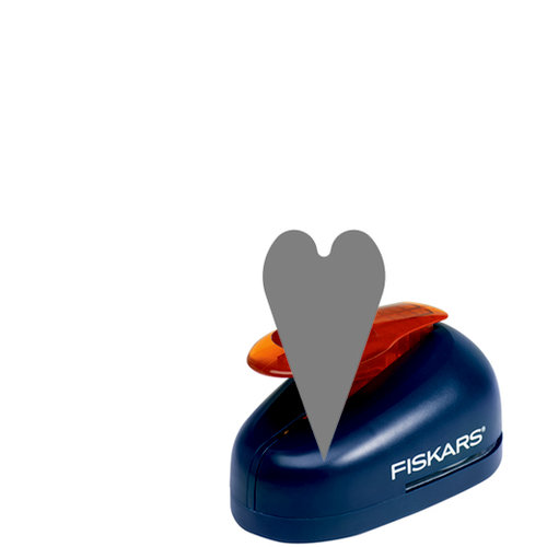 Fiskars - Lever Punch - Small - .75 Inch Heart