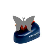 Fiskars - Lever Punch - Medium - One Inch Delicate Butterfly