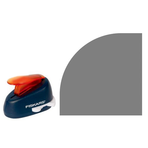 Fiskars - Decorative Corner Lever Punch - Large Cutting Radius