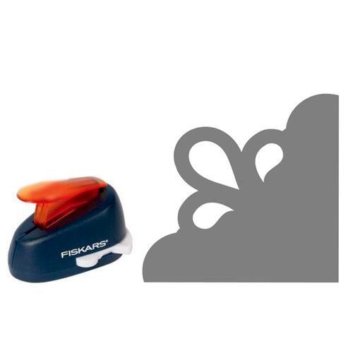 Fiskars - Decorative Corner Lever Punch - Three Petals