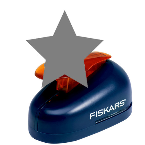 Fiskars - Lever Punch - Extra Large - Star