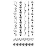 Fiskars - Clear Acrylic Stamps - 4 x 8 - Doodle Borders