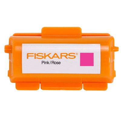 Fiskars - Continuous Stamp - Pigment Ink Cartridge - Pink