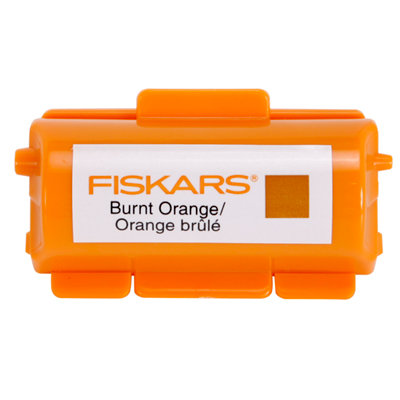 Fiskars - Continuous Stamp - Pigment Ink Cartridge - Burnt Orange