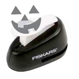 Fiskars - Halloween - Lever Punch - Medium - Laughin' Jack