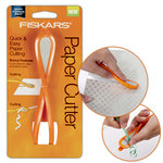 Fiskars - Paper Cutter with Built In Ribbon Curler