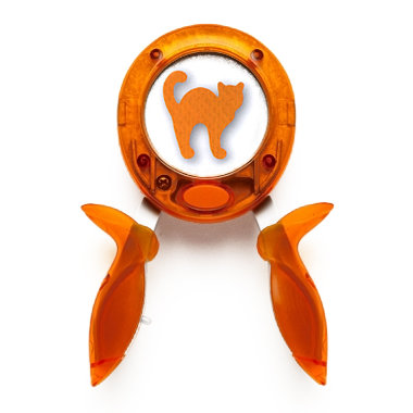 Fiskars - Halloween Squeeze Punch - Large - Scaredy Cat