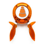 Fiskars - Halloween Squeeze Punch - Large - You're So Corny