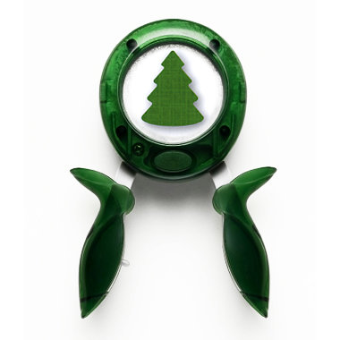 Fiskars - Squeeze Punch - Large - Christmas - I Pine For You, CLEARANCE