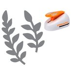 Fiskars - Lever Punch - Extra Large - Ferns