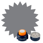 Fiskars - Everywhere Punch Window System - Burst Cartridge