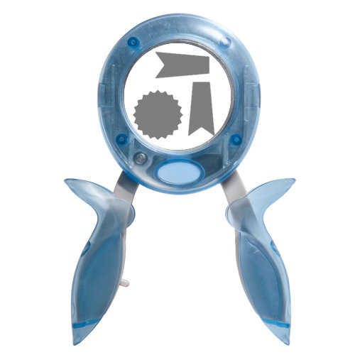 Jenni Bowlin Studio - Fiskars - Squeeze Punch - Large - Blue Ribbon