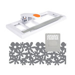 Fiskars - AdvantEdge Punch System - Border Punch Tool - Starter Set - Flower Garden